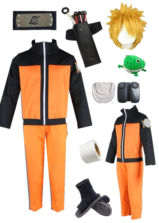 Amazon.com: Naruto Vortex Naruto disfraz de Halloween para ...
