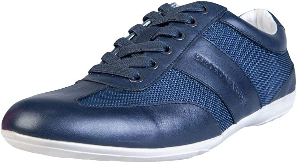 Emporio Armani Formal Trainers Blue 11