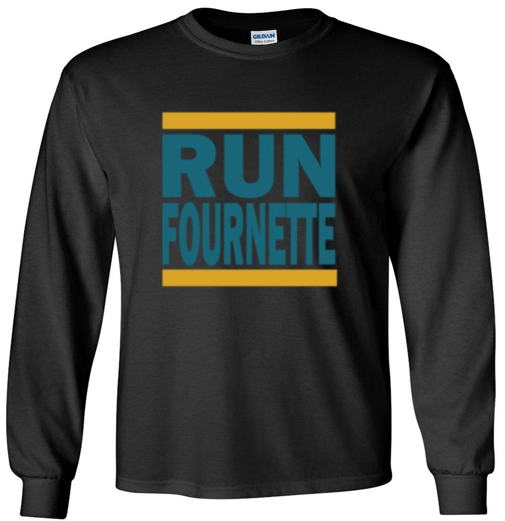 The Silo Long Sleeve Navy Jacksonville Fournette Run T-Shirt