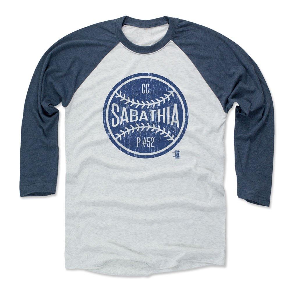 CCサバシアボールB New YorkメンズベースボールTシャツ B01NCHM634Indigo / Ash Medium