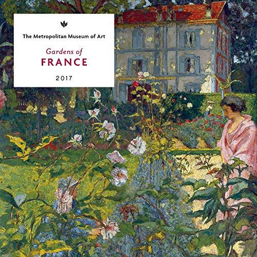 Gardens Of France 2017 Mini Wall Calendar