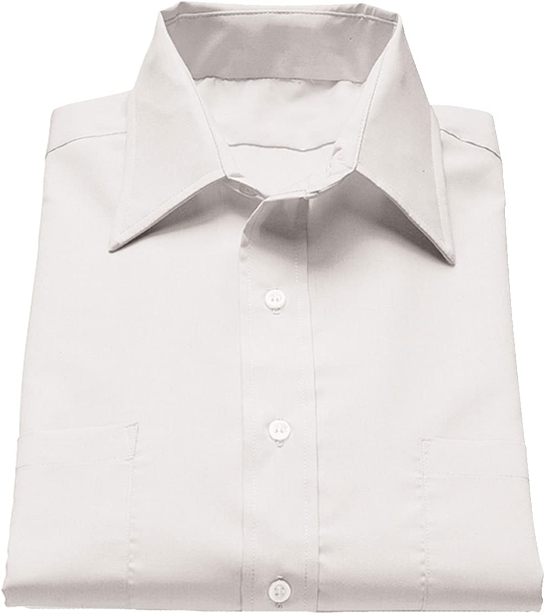 Edwards Garment Mens Big And Tall Short Sleeve Broadcloth Shirt/_WHITE