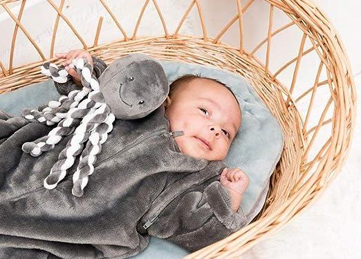 Amazon.com: Nattou - Octopus (antracita/blanco): Baby