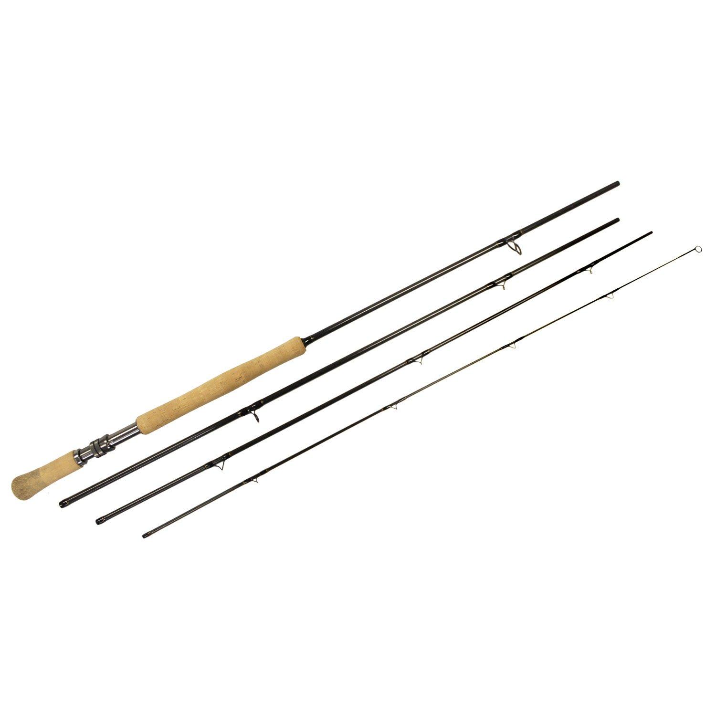 Shu-Fly Switch 8 Fly Fishing Rod (4-Piece), Black, 11-Feet by Shu-Fly