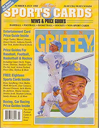 Amazon.com: Sports Cards News and Price Guides #8 July 1992 ...
