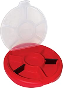 Bucket Boss Bucket Seat Small Parts Organizer in Red, 10010
