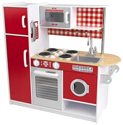 Amazon Com Kidkraft 53253a Super Chef Kitchen Toy Toys Games