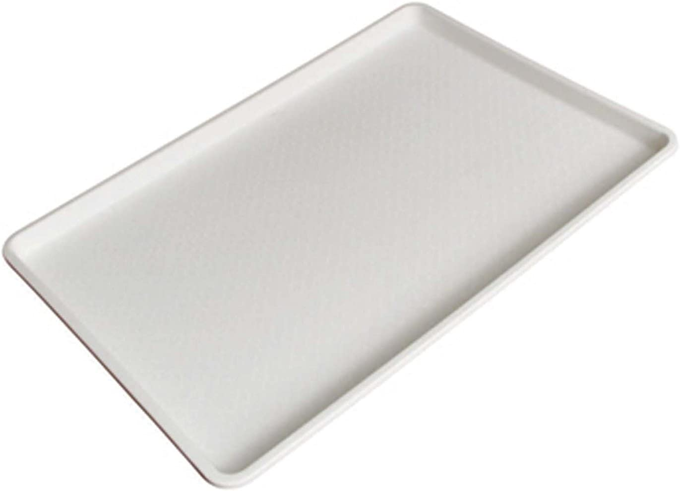 18 x 26 Inch Plastic Tray White (Set of 2)