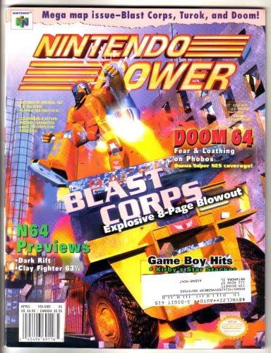 Amazon.com: Nintendo Power Magazine - Blast Corps (Volume 95 ...
