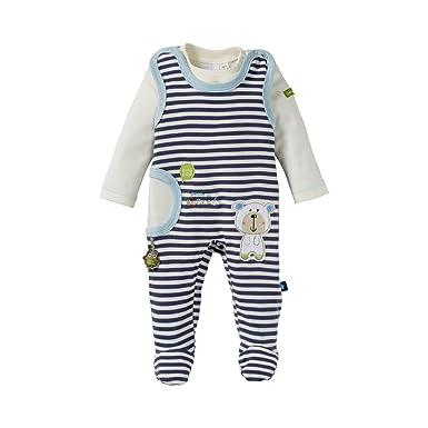Bornino Grenouillère avec T-shirt à manches bébé ensemble bébé ... 743b4bd1132