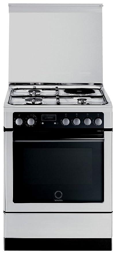 Scholtes CI 66M W Piano cottura Combi Bianco cucina: Amazon.it: Casa ...