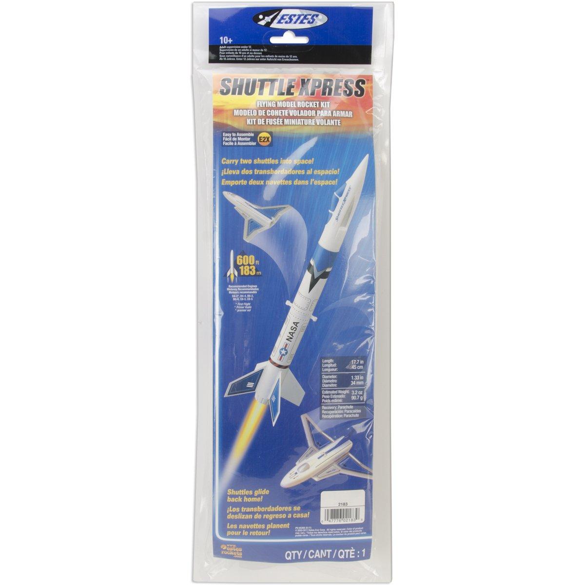 Estes 2183 Shuttle Xpress Flying Model Rocket Kit Estes CA