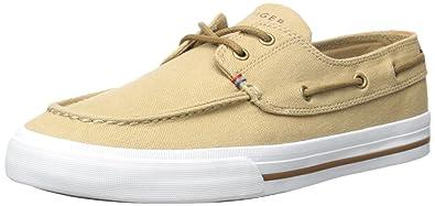 b219bb3069a16 Tommy Hilfiger Men s Philo Fashion Sneaker Khaki 10 ...
