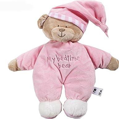 Amazon.com: 12.6 inch rosa My Bedtime Oso Bebé recién nacido ...