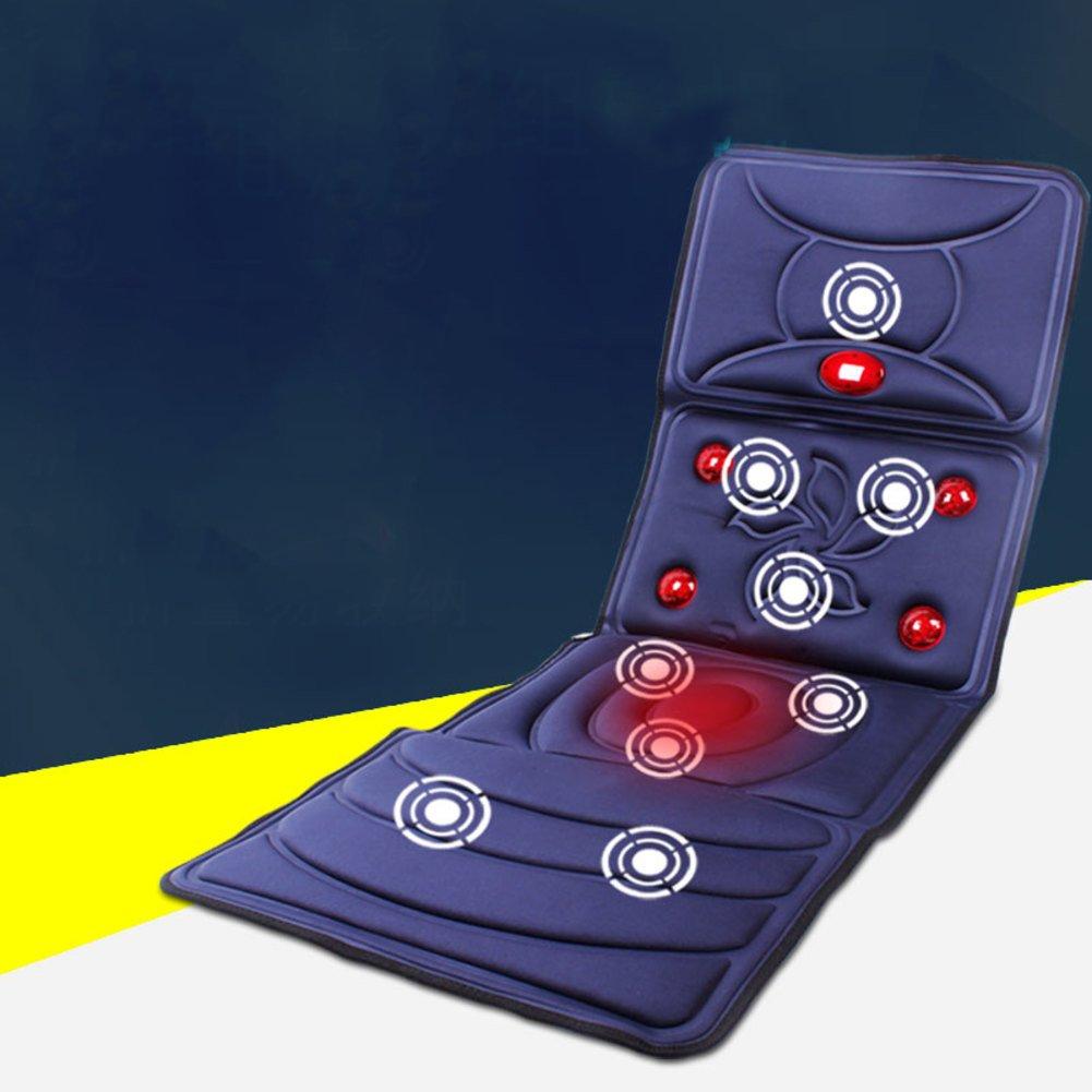 GX&XD Electric Massage Tatami Floor Mat,Folding Mattress Full Body Multifunction Cushion Back Cervical Massager-B