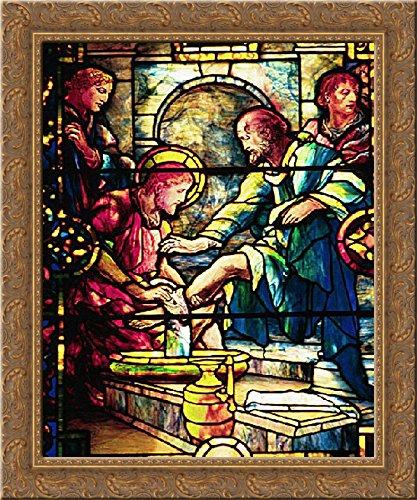Amazon com: Jesus Washing the Feet of the Disciples 20x23