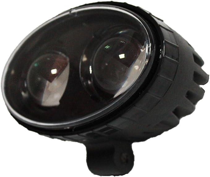 SXMA 8W CREE LED azul Luces de montacargas L/ámpara de advertencia de seguridad /Área de almac/én L/ínea recta Cami/ón Indicador de seguridad Luz de foco Aleaci/ón de aluminio IP68 1 PC