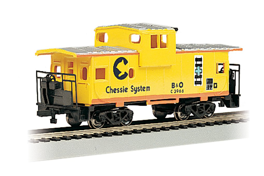 Bachmann Trains Chessie 36' Wide Vision Caboose Ho Scale