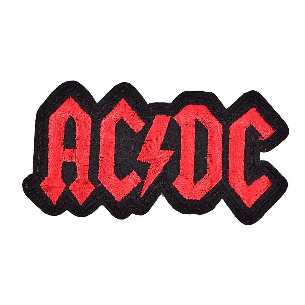 Appliques v/êtements Badge de Dessin anim/é Bloomeet /Écusson brod/é thermocollant AC//DC pour Tissu