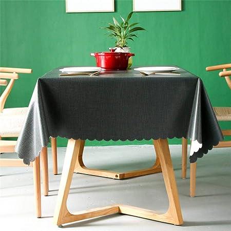 SULUO 6 Colores PVC Cubierta de Mesa Protector Almohadilla de ...