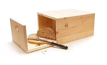 Brotkasten Klein brotkasten aus zirbenholz klein amazon de küche haushalt