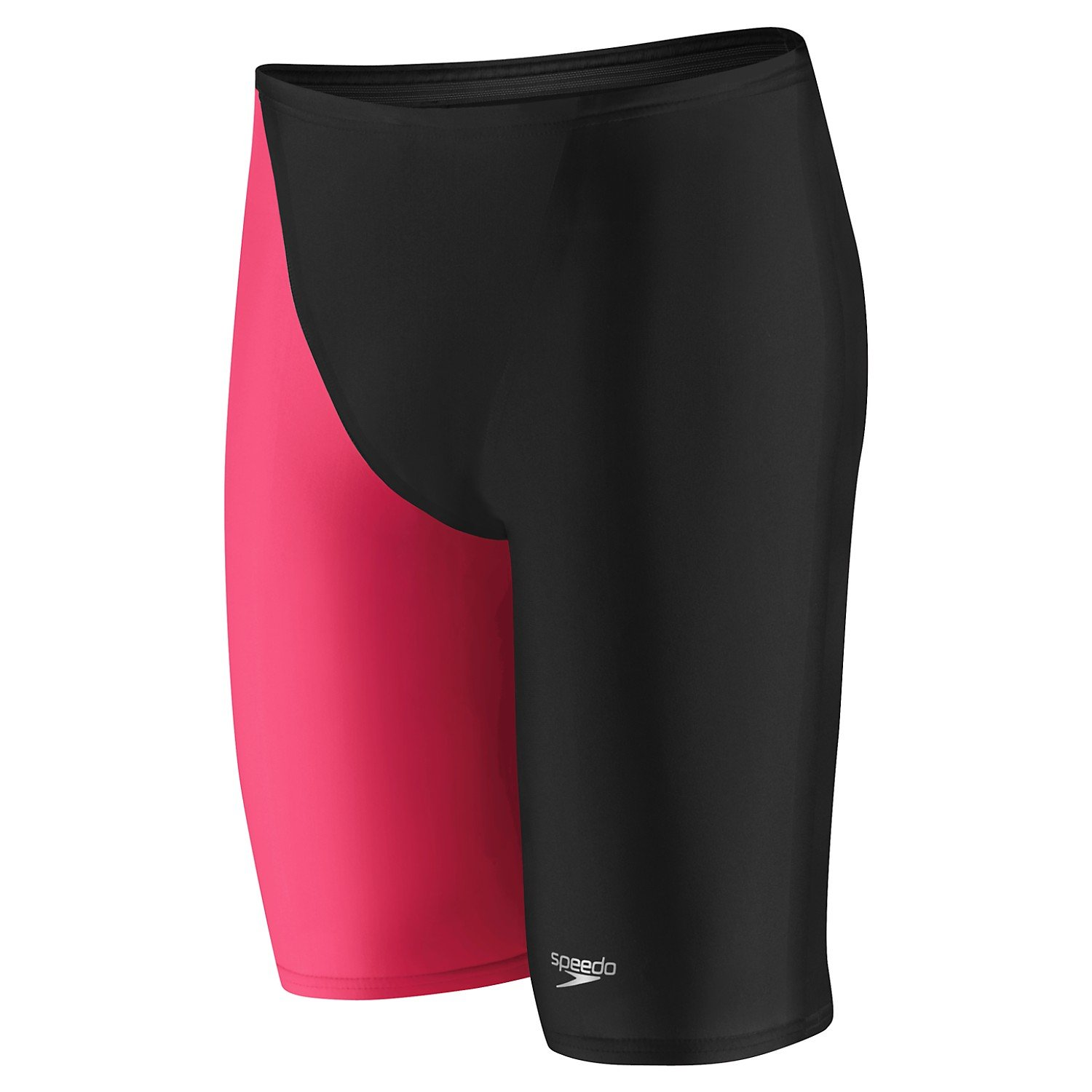 Speedo LZR Elite 2 High Waist Jammer,Hot Coral (007),26