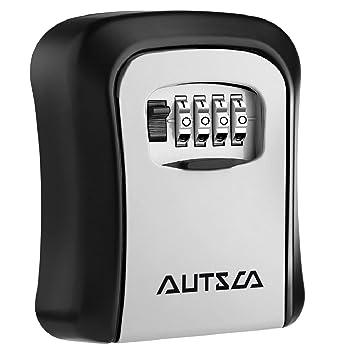 Parfait AUTSCA Boite à Clé Sécurisée Key Safe Rangement Sécurisé Avec Code  Numérique à 4 Chiffres, ...