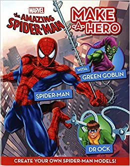 marvel s spider man make a hero marvel make a hero parragon books