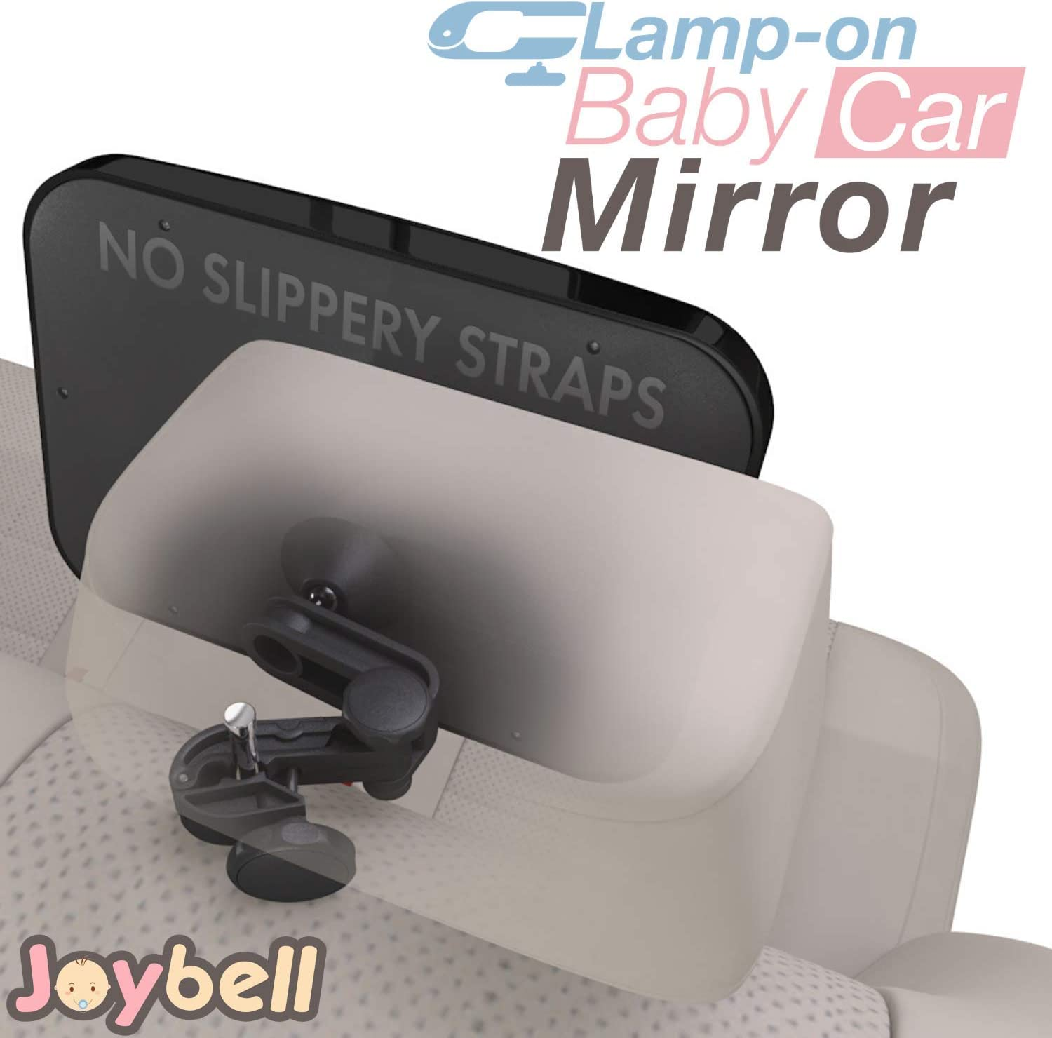 ULTRA ADJUSTABLE Baby Car Mirror To See Infant in Rear Facing Car Seat