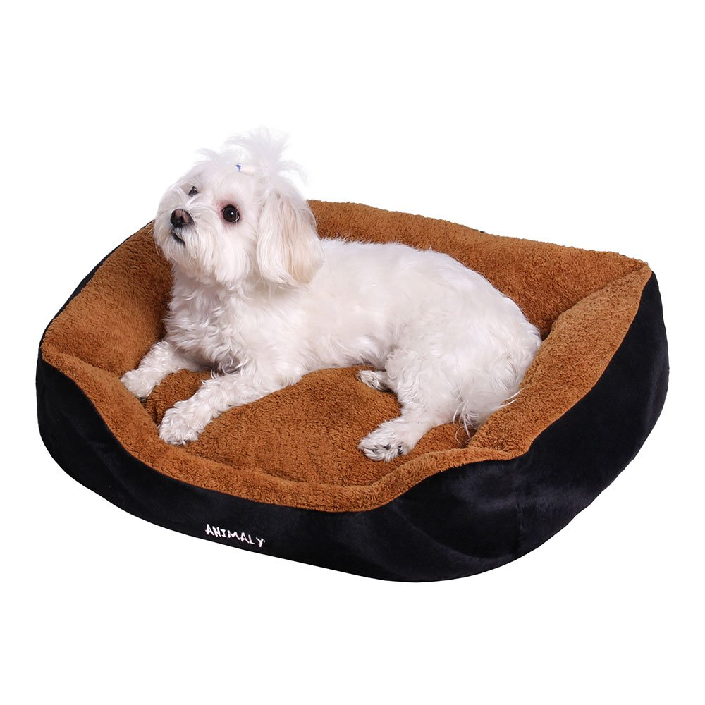 Animaly Fluffy pet Bed, a Soft Bed for a Dog, a Cozy mat for a cat, a Travel Bed, an Anti-Allergic playpen for Pets, a Universal Bed for a Small Dog or cat
