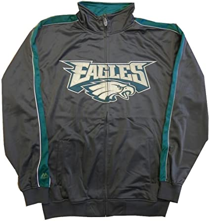 Majestic OUR TEAM Shirt Philadelphia Eagles charcoal