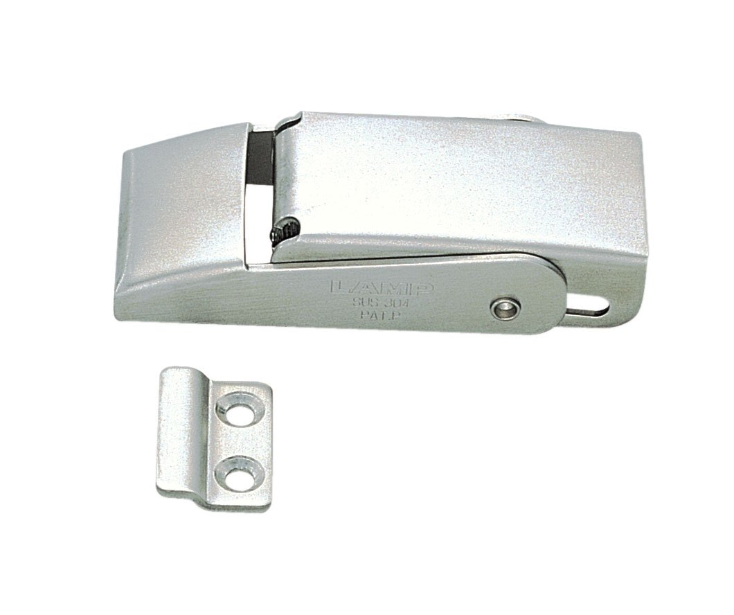 Non Locking Satin Finish 3 5//32 Length Sugatsune STF 80 3 5//32 Length Pack of 1 Pack of 1 Stainless Steel 304 Spring Loaded Draw Latch