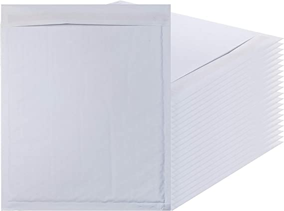 """8x10 White Bubble Mailer Padded Envelope Mailers Shipping Bag 8/""""x10/"""" 25 count"""