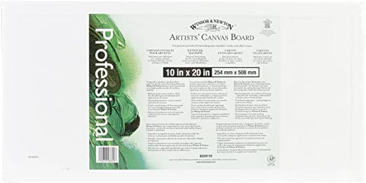 3 x 5 Winsor /& Newton Artists Canvas Board