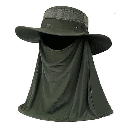 HAIPENG gorra Verano Gorros Para El Sol Sombreros Viseras Gorras Gorro De Pescador  Pare Hombre Anti 46d5770f505