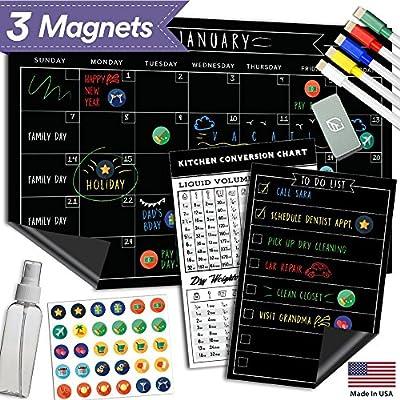 magnetic-dry-erase-refrigerator-calendar