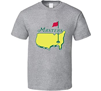 Masters Tournament Augusta National Golf Grey T Shirt