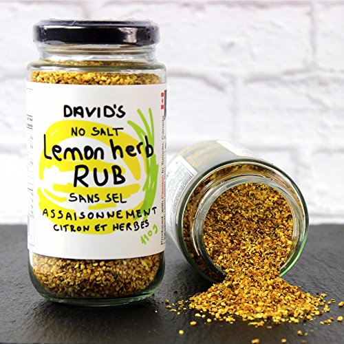 David#039s Lemon Herb Seasoning Rub SALT FREE 39 oz