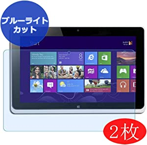 """【2 Pack】 Synvy Anti Blue Light Screen Protector for Acer ICONIA TAB W510P 10.1"""" Screen Film Protective Protectors [Not Tempered Glass]"""