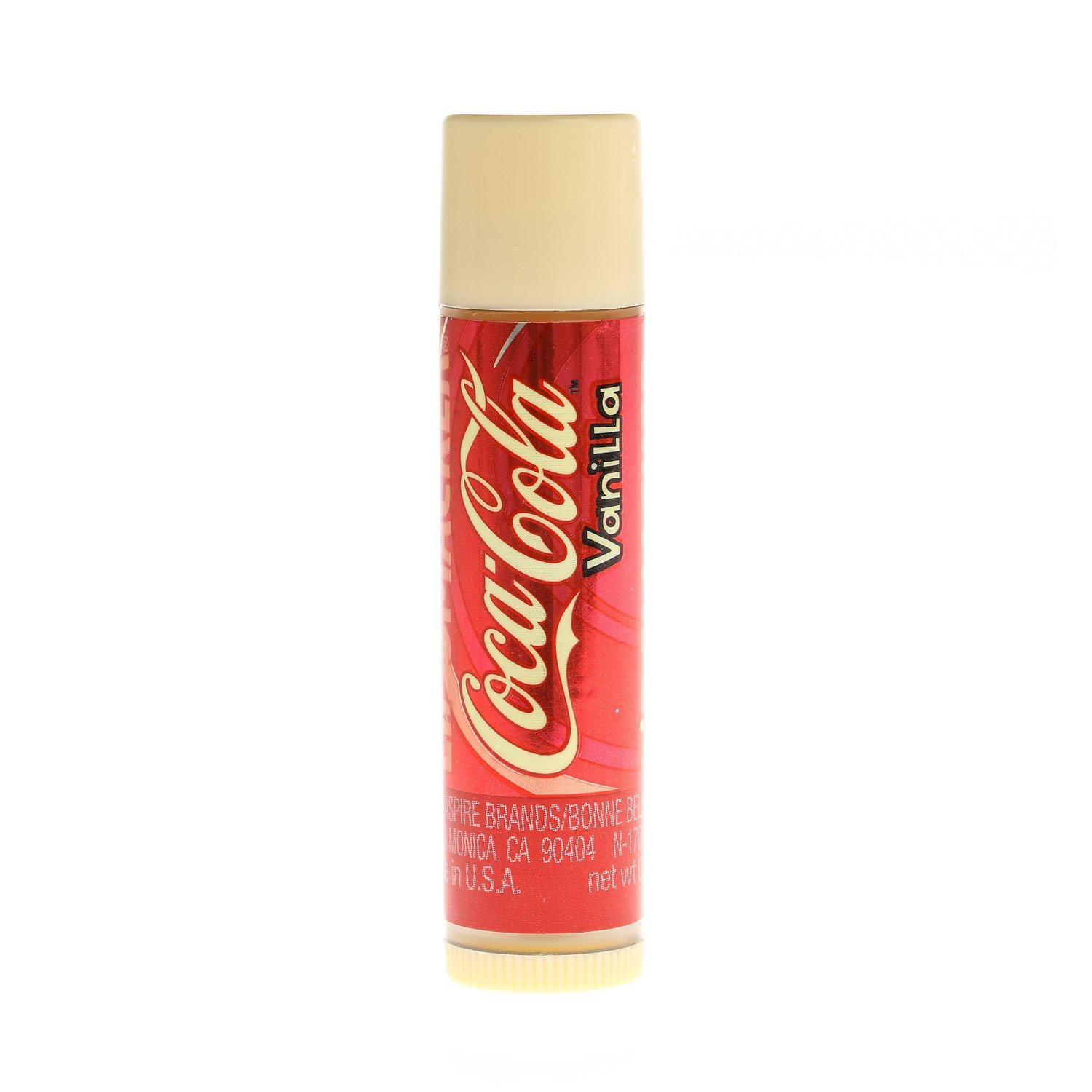 Claire's Girls and Womens Coca Cola Vanilla Flavoured Lip Smacker in Clear by Claire's