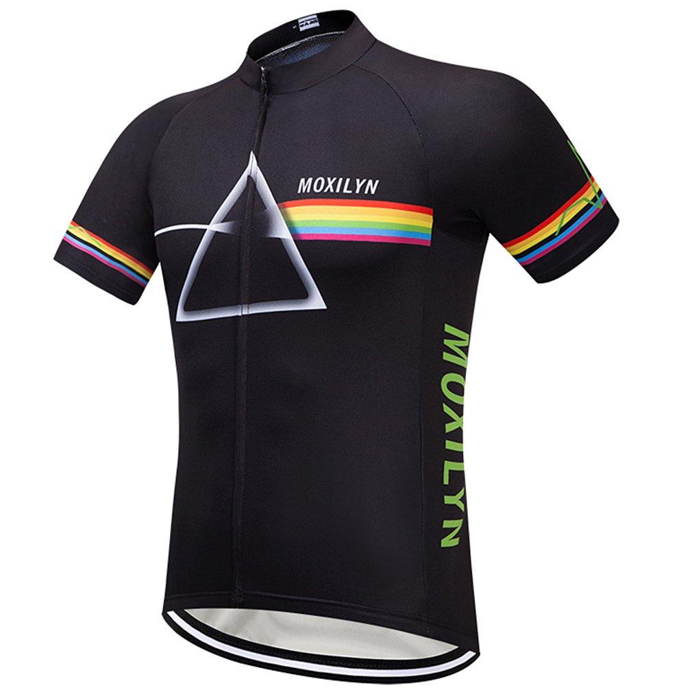 Nawing Cycling Jersey Men Women Stars Short Sleeve Unisex Cycle Bike Shirt