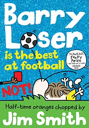 Barry Loser is the best at football NOT! (The Barry Loser (Old English Witch Balls)