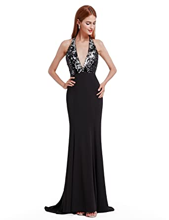 Ever-Pretty Womens Open Back Long Sequin Gown Evening Dresses 07164 at  Amazon Women s Clothing store  c6dd6023ba