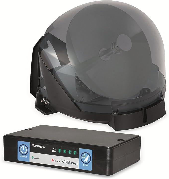 Maxview VU Qube Auto II - Sistema de satélite, Color Blanco
