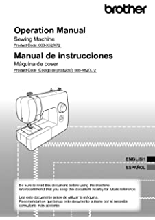 Brother BX3000 Sewing Machine Owners Instruction Manual
