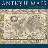 2018 Antique Maps Wall Calendar