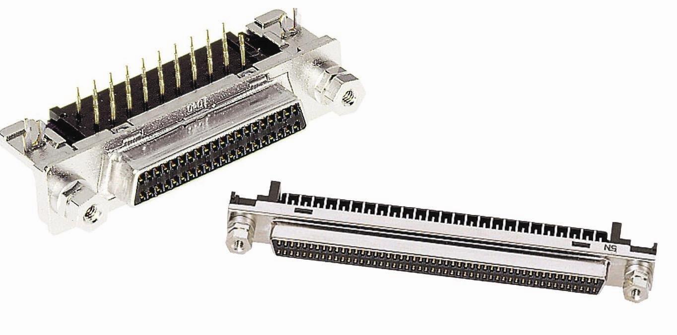 10 pieces D-Sub Micro-D Connectors HAR-MIK P//S 20M-IDC 0,65-0,8