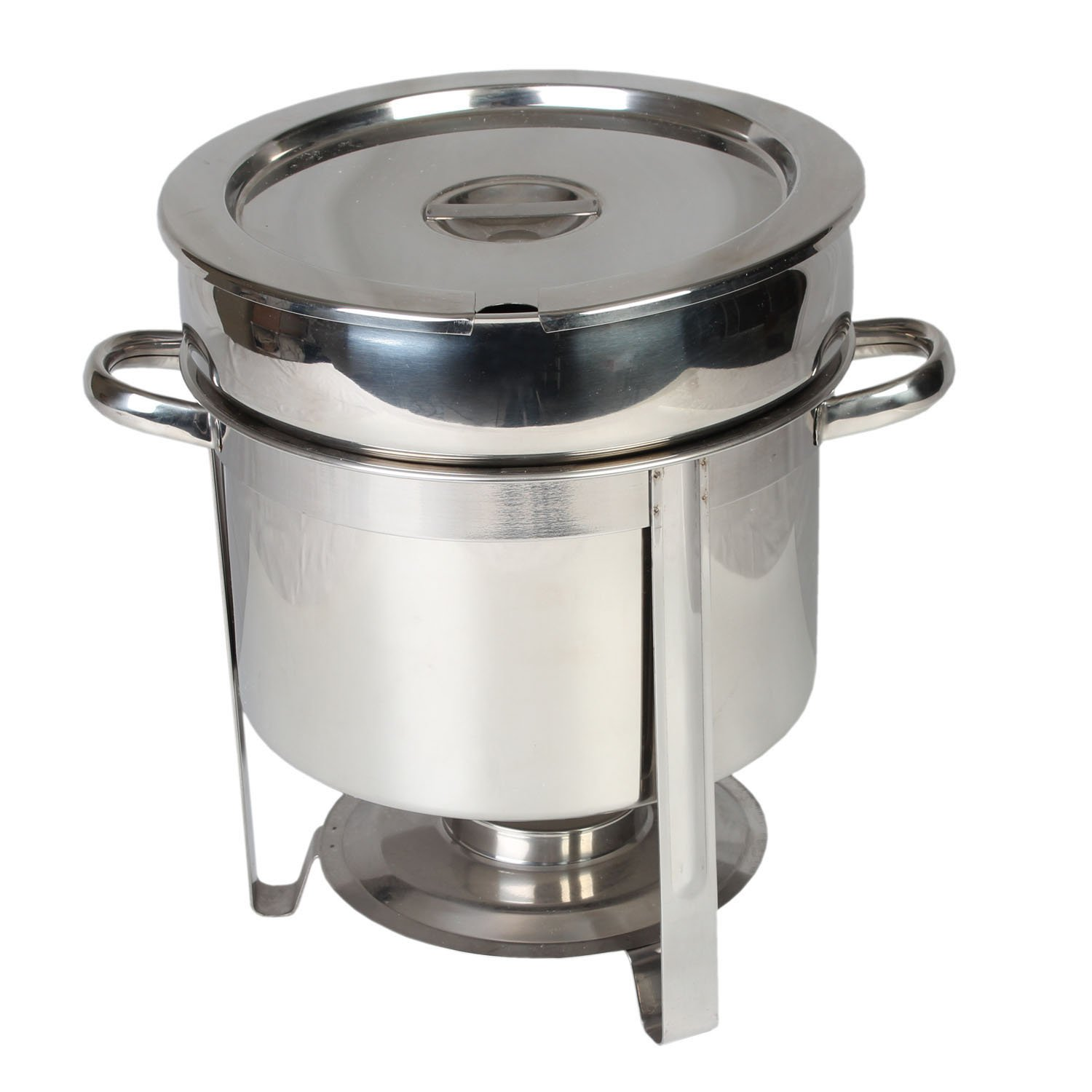 Excellante Stainless Steel 11-Quart Marmite Chafer Thunder Group SLRCF8311