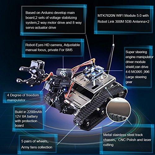 Kuman Wireless 무선 조작기 Arduino, 유틸리티 차량용 지능 로..