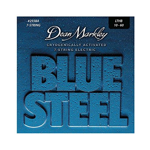 (Dean Markley Electric Blue Steel L.T.H.B. 7-String, .010 - .060, 2558A)